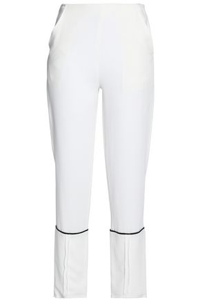 VIONNET Crepe tapered pants