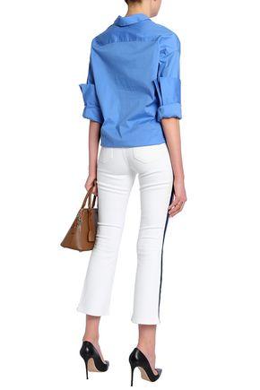 VICTORIA, VICTORIA BECKHAM Mid-rise kick flare jeans