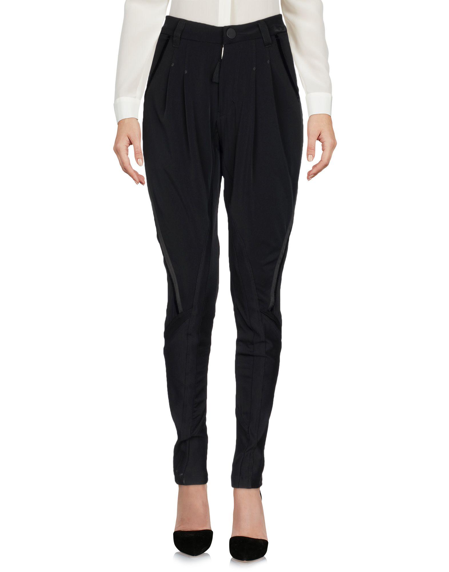 HIGH TECH Повседневные брюки solid tech ros 1 regular white