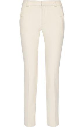 ROLAND MOURET Crepe straight-leg pants