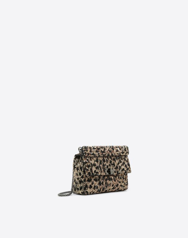 Bolso mediano con cadena Rockstud Spike.It