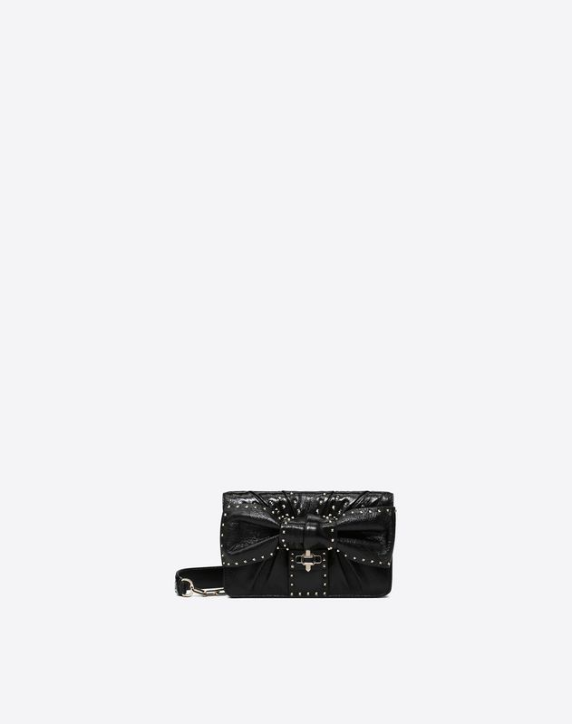 Side Bow Mini Crossbody Bag