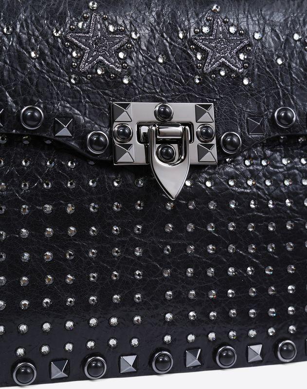 Guitar Strap Punk Star embroidered Bag
