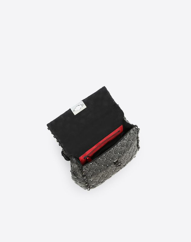 Medium Ombre Beaded Spike Bag