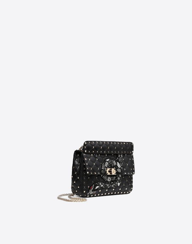 Medium Rockstud Spike Chain Bag