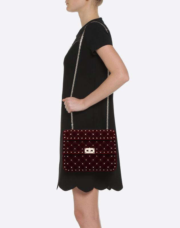 Medium Rockstud Spike Chain Bag