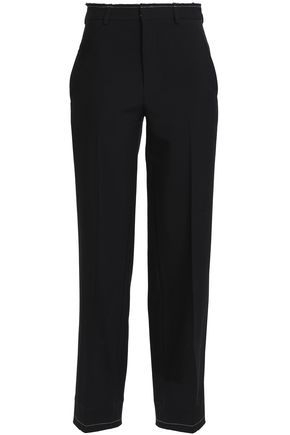 TOME Wool-twill straight-leg pants