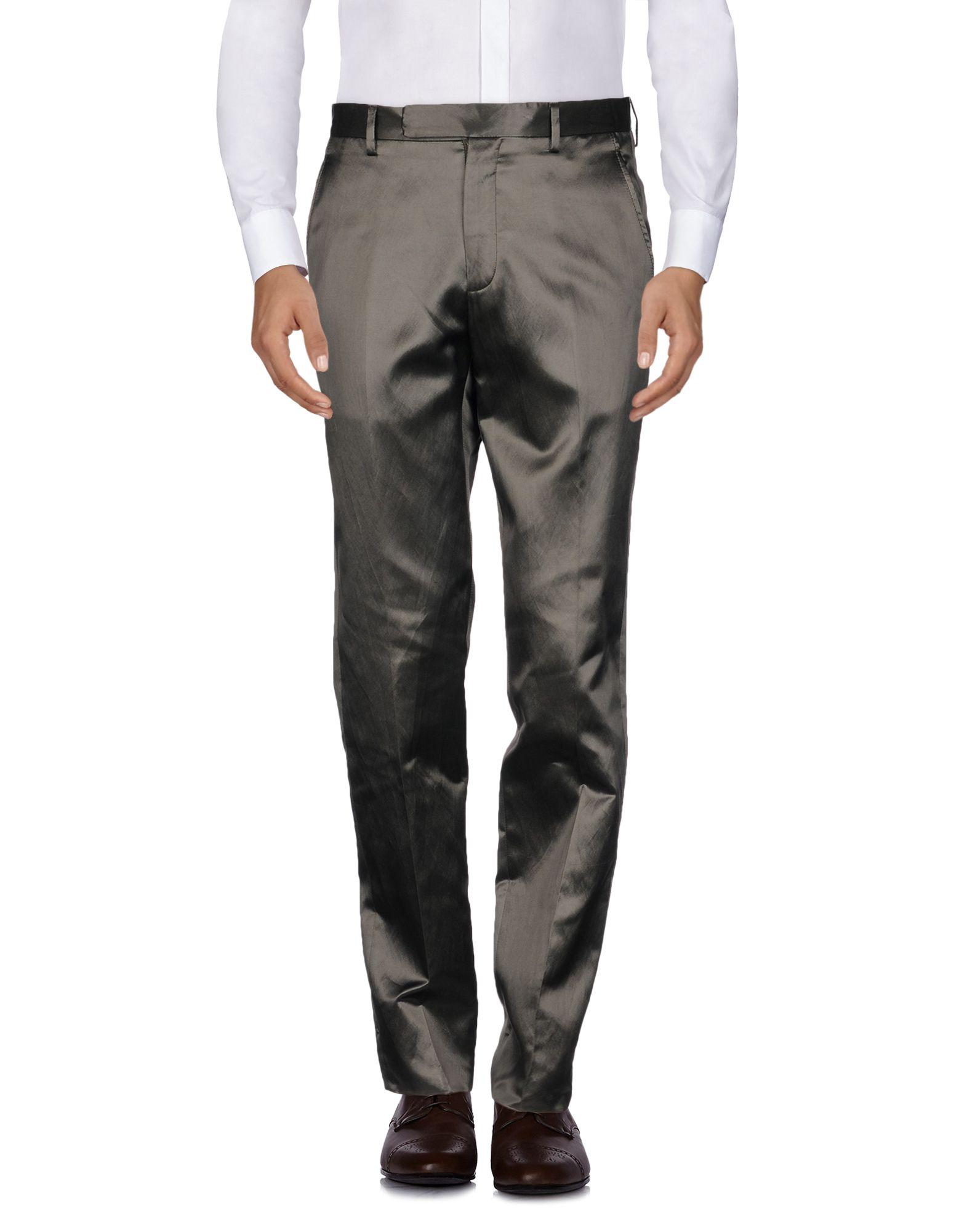 LANVIN Повседневные брюки брюки mokko