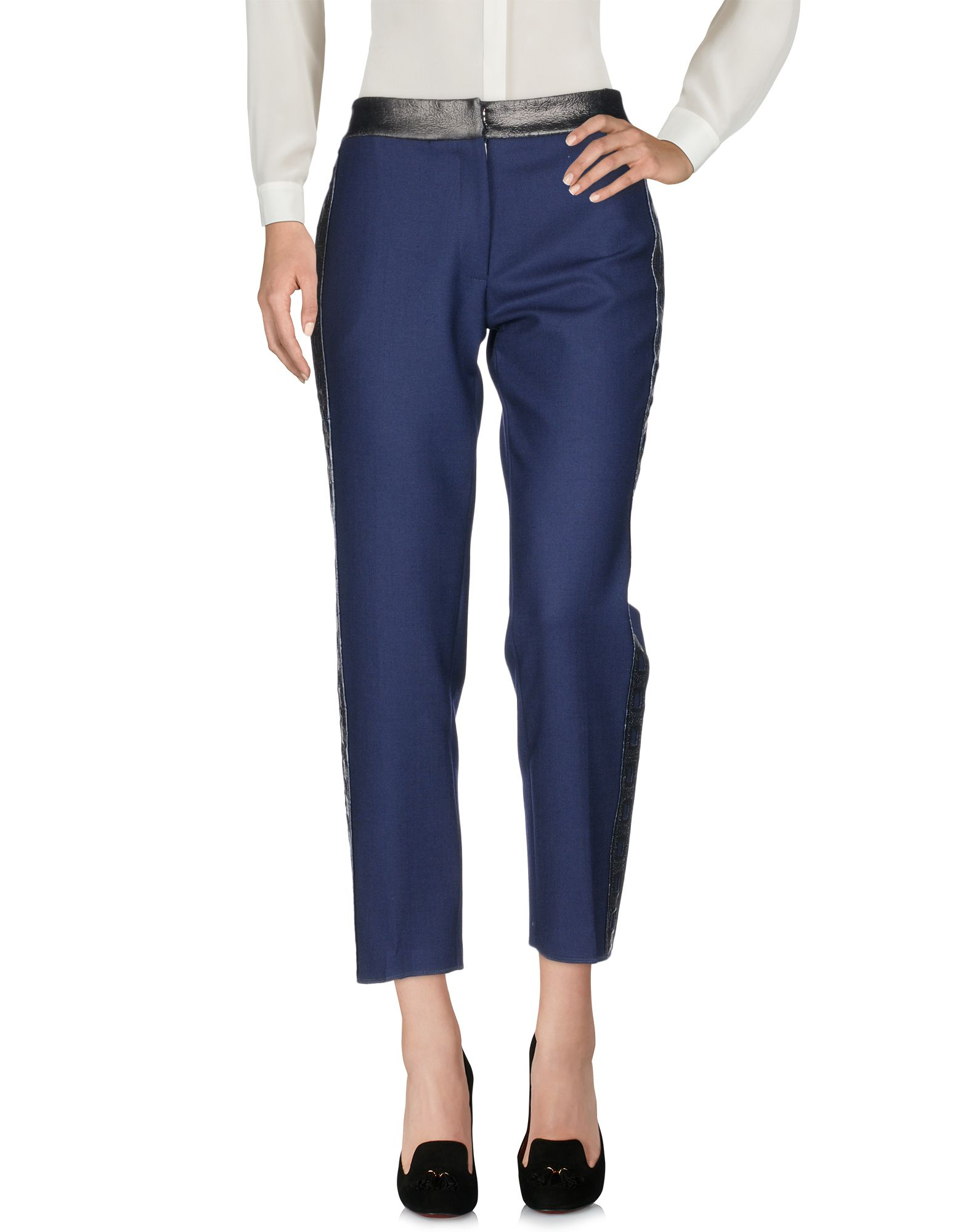TEATUM JONES Casual Pants in Dark Blue