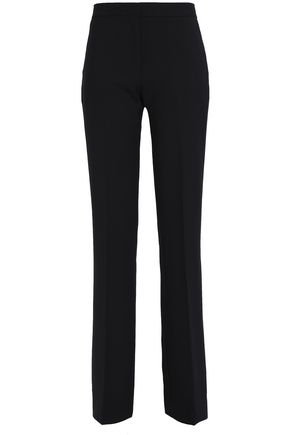 VICTORIA, VICTORIA BECKHAM Wool-blend crepe bootcut pants