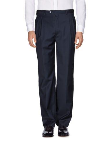 Фото - Повседневные брюки от JASPER REED темно-синего цвета