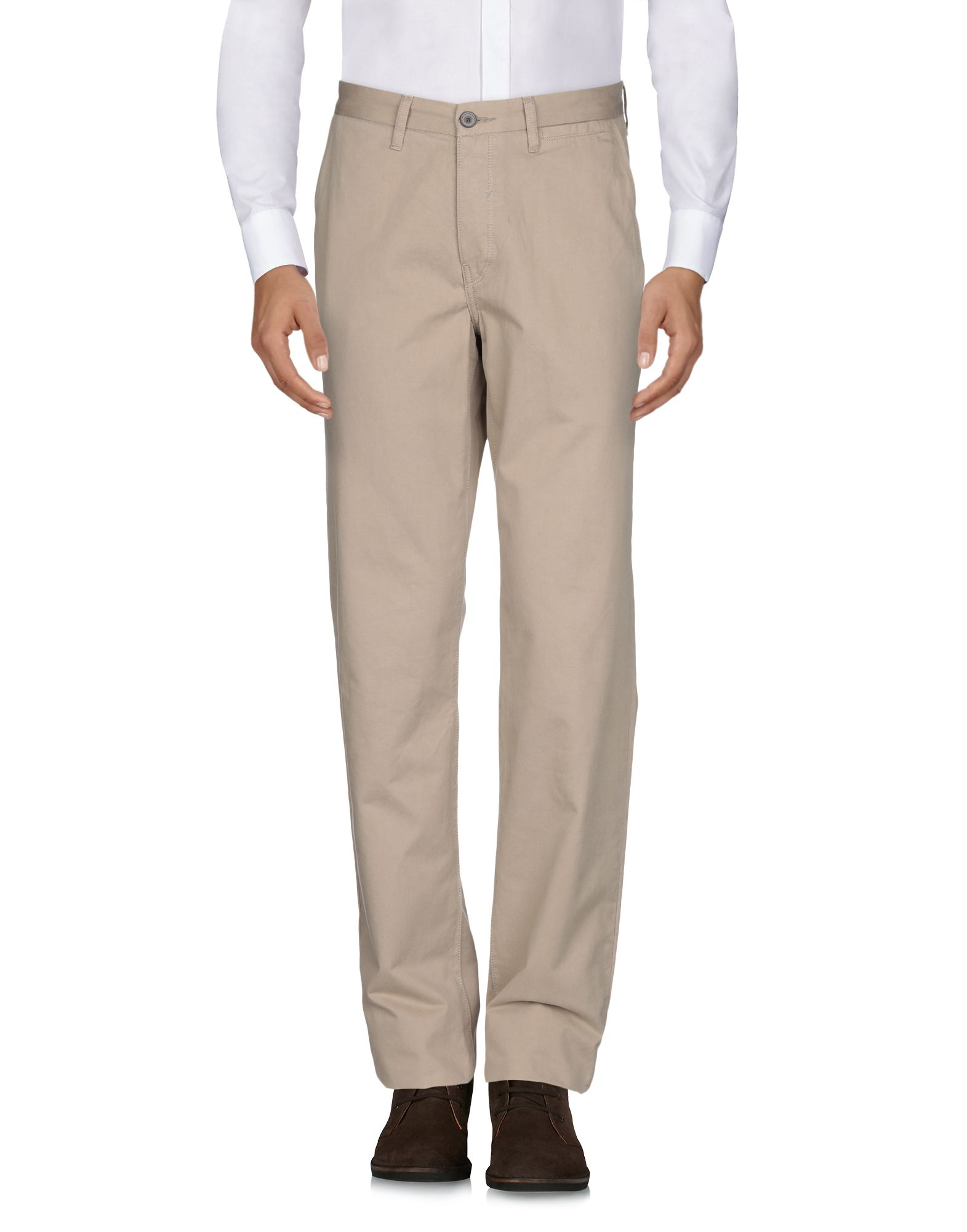 CHINO by BEN SHERMAN Повседневные брюки casual style straight leg zipper fly chino pants