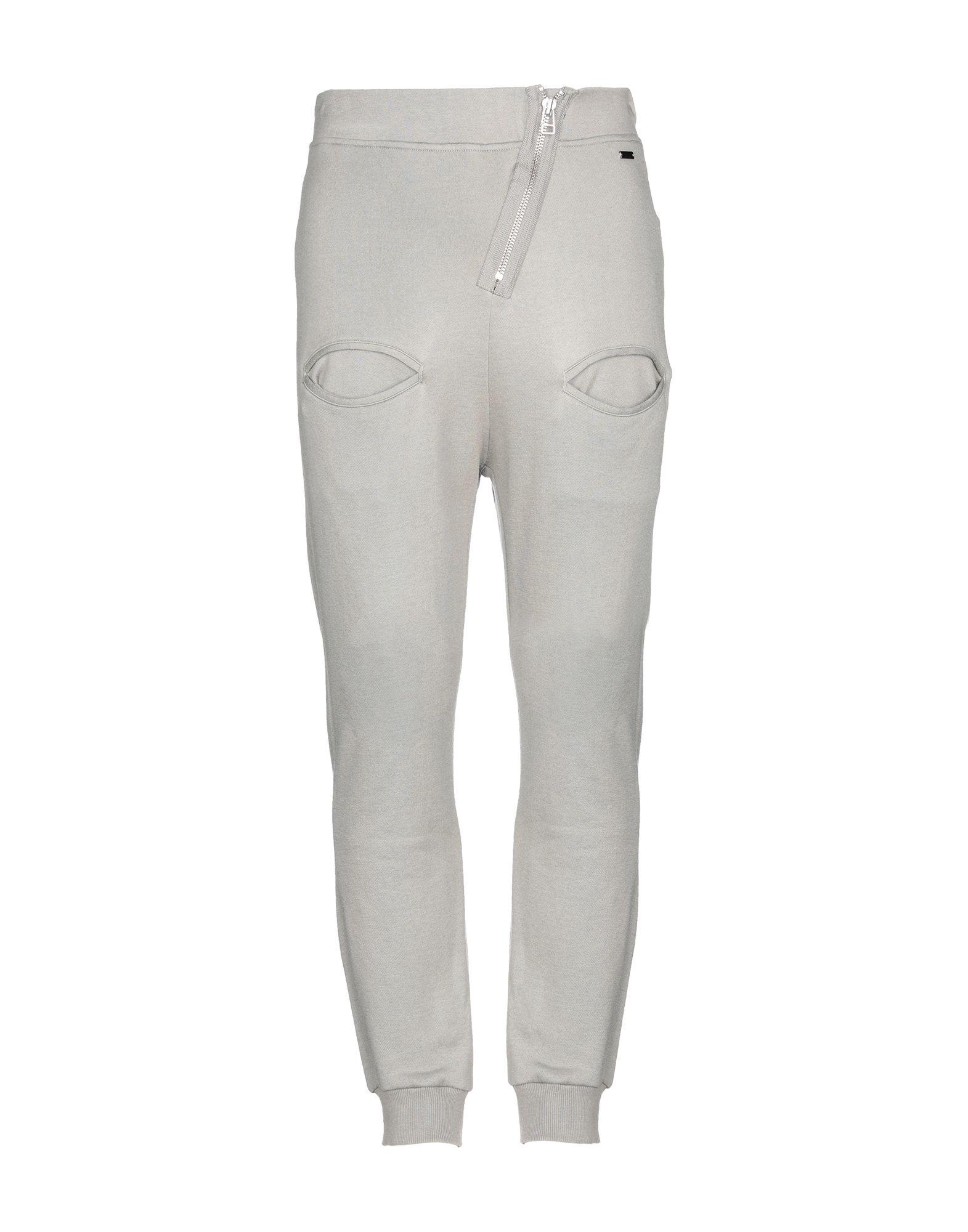 《セール開催中》ADIDAS SLVR メンズ パンツ グレー M レーヨン 50% / コットン 37% / ウール 13%