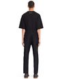 LANVIN Trousers Man STRIPED COMPACT WOOL PANTS f