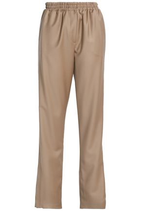 GIVENCHY Wool-twill straight-leg pants