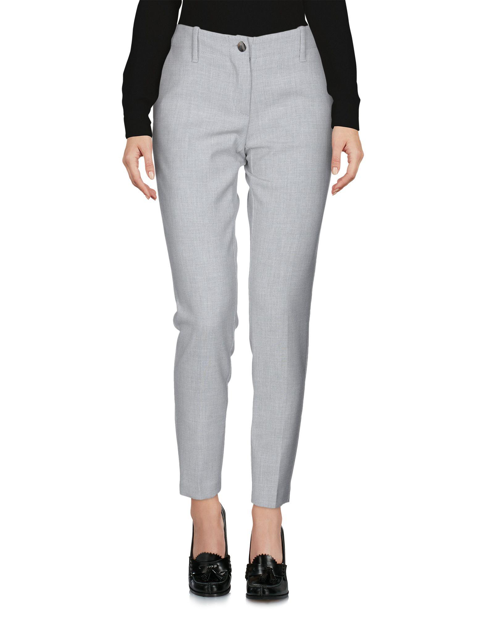 CARLA G. Повседневные брюки цены онлайн
