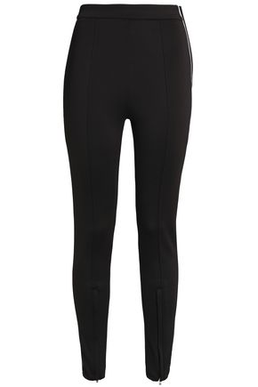 MAJE Presy stretch-ponte leggings