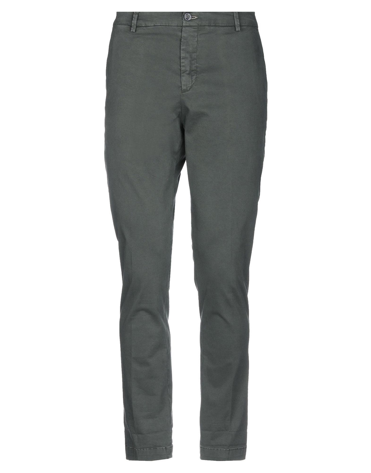 《期間限定セール開催中!》EREDI DEL DUCA メンズ パンツ ミリタリーグリーン 52 コットン 97% / ポリウレタン 3%