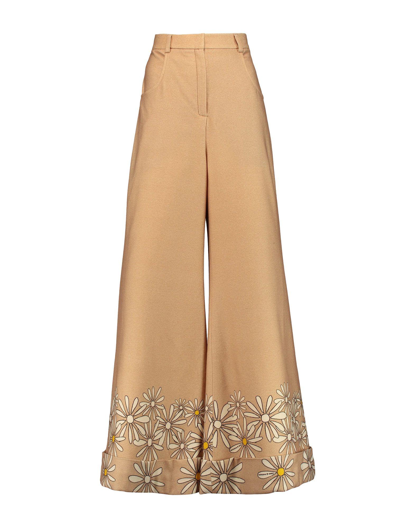 NATASHA ZINKO Повседневные брюки natasha zinko укороченные шерстяные брюки