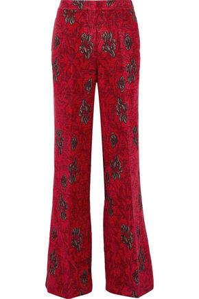 DEREK LAM Brocade flared pants