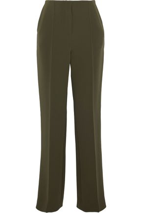 DIANE VON FURSTENBERG Crepe straight-leg pants
