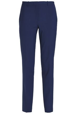 THEORY Wool-blend crepe tapered pants