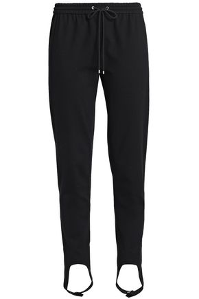 THEORY Stretch-jersey tapered stirrup pants