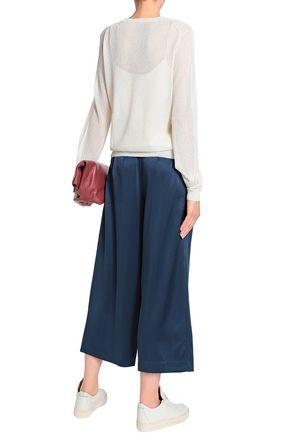 THEORY Silk-satin culottes