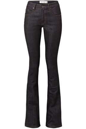 VICTORIA, VICTORIA BECKHAM Mid-rise bootcut jeans