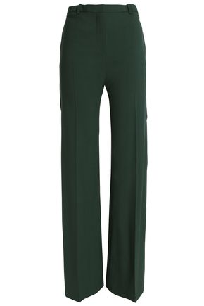 THEORY Wool-blend flared pants