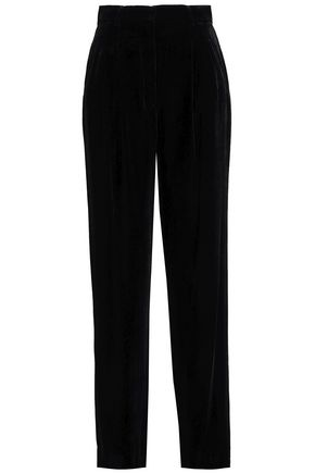 THEORY Velvet wide-leg pants