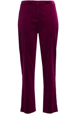 THEORY Velvet tapered pants