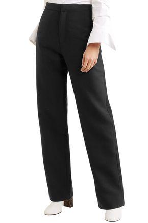 JACQUEMUS Wool-canvas wide-leg pants