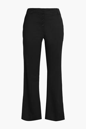 PROENZA SCHOULER Wool-blend twill wide-leg pants