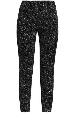 PROENZA SCHOULER Printed high-rise skinny jeans