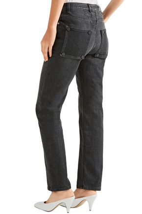 OPENING CEREMONY Faded mid-rise slim-leg jeans
