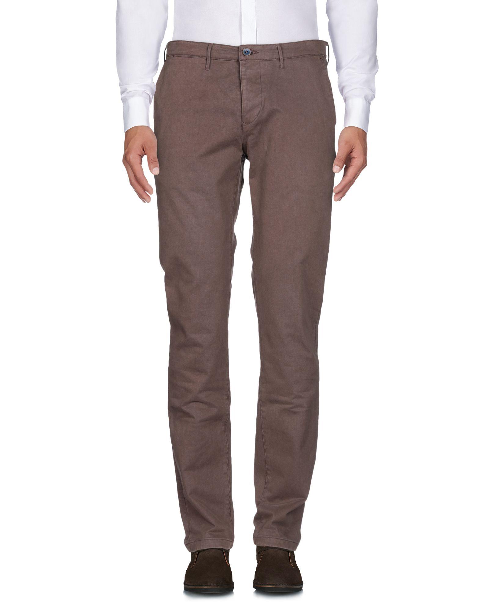 OAKS Повседневные брюки брюки mokko