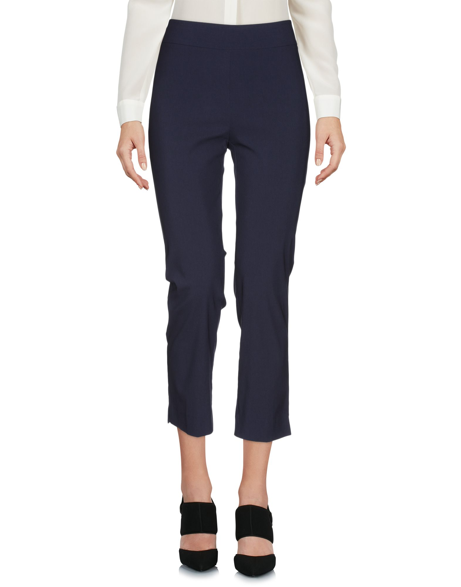AVENUE MONTAIGNE Cropped Pants & Culottes in Dark Blue