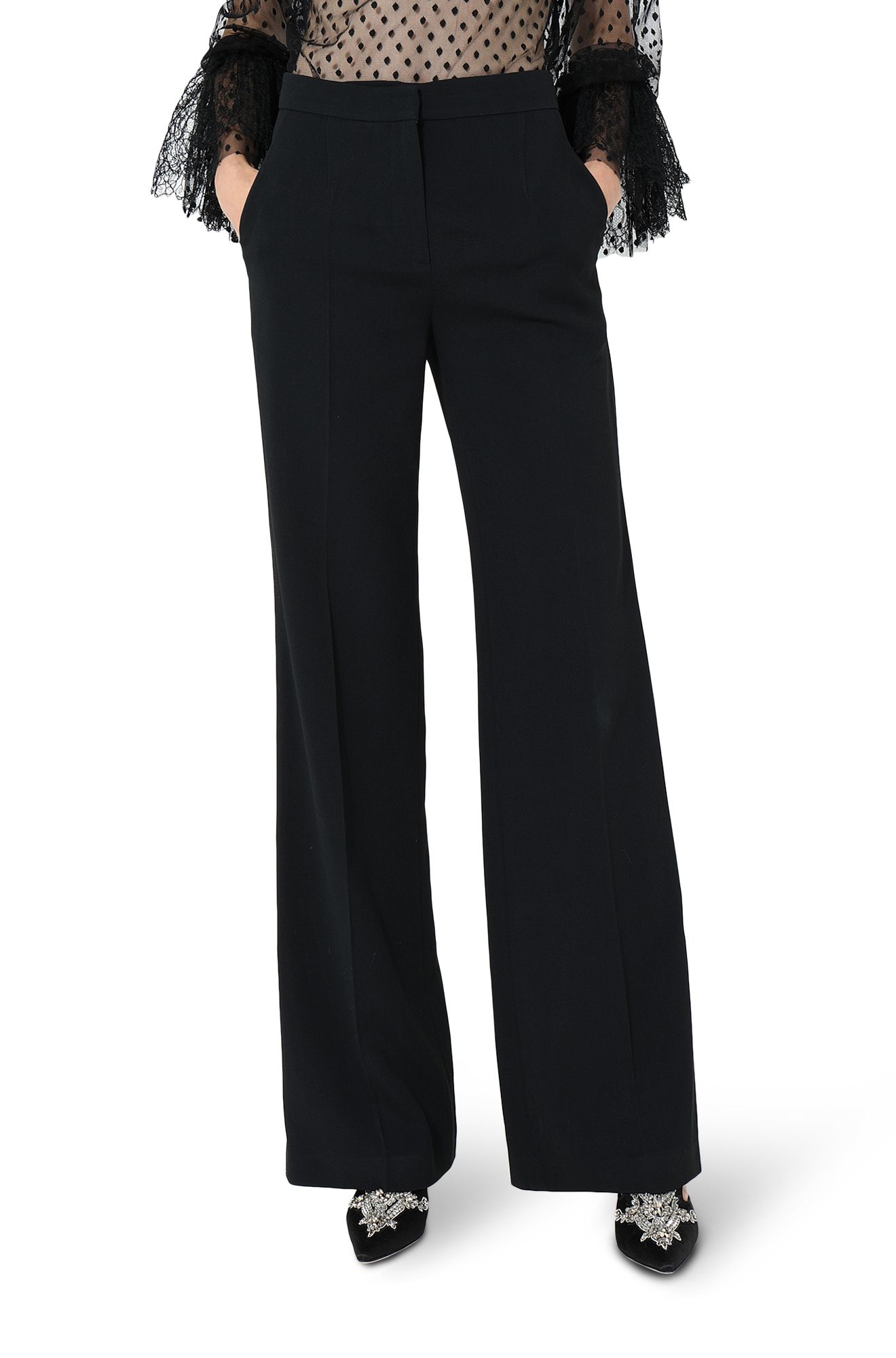 ALBERTA FERRETTI TROUSERS Woman r