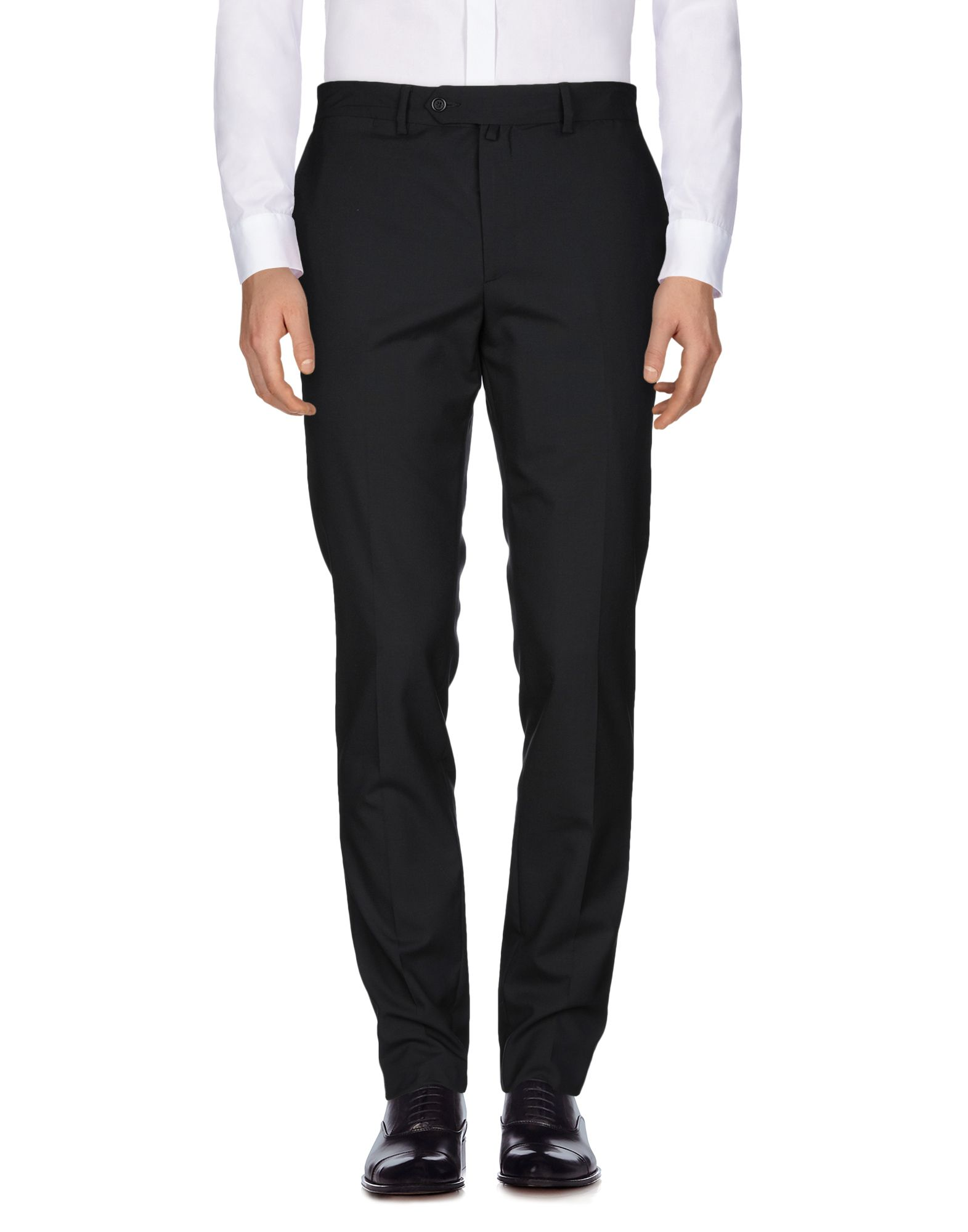 ALL APOLOGIES Casual Pants in Black