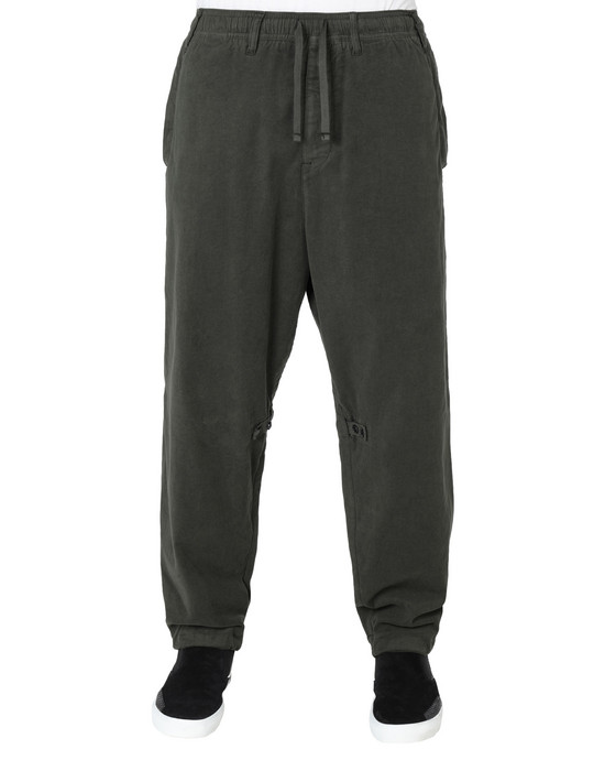 30211 ADJUSTABLE TROUSERS WITH ARTICULATION TUNNELS (STRETCH MOLESKIN) GARMENT DYED