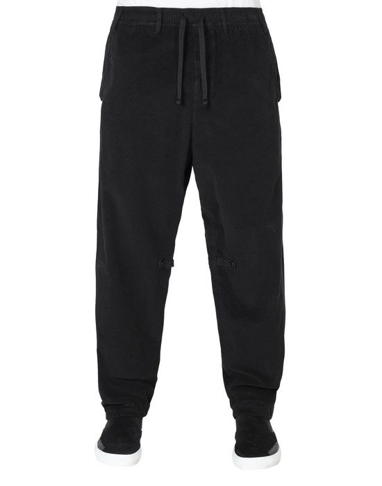 TROUSERS 30211 ADJUSTABLE TROUSERS WITH ARTICULATION TUNNELS (STRETCH MOLESKIN) GARMENT DYED STONE ISLAND SHADOW PROJECT - 0