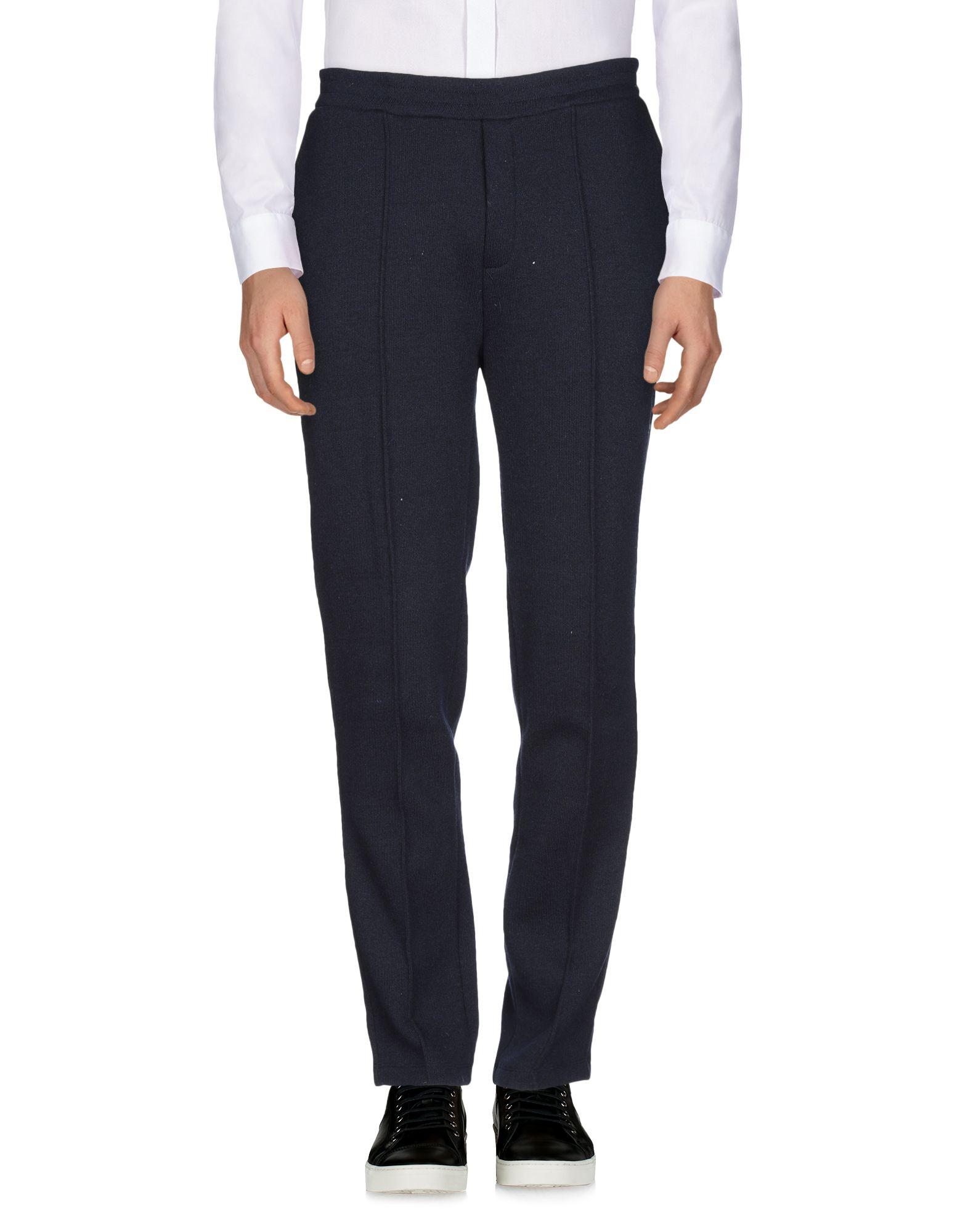 《セール開催中》LIBERTINE-LIBERTINE メンズ パンツ ダークブルー XL アクリル 48% / ウール 39% / ナイロン 11% / ポリウレタン 2%