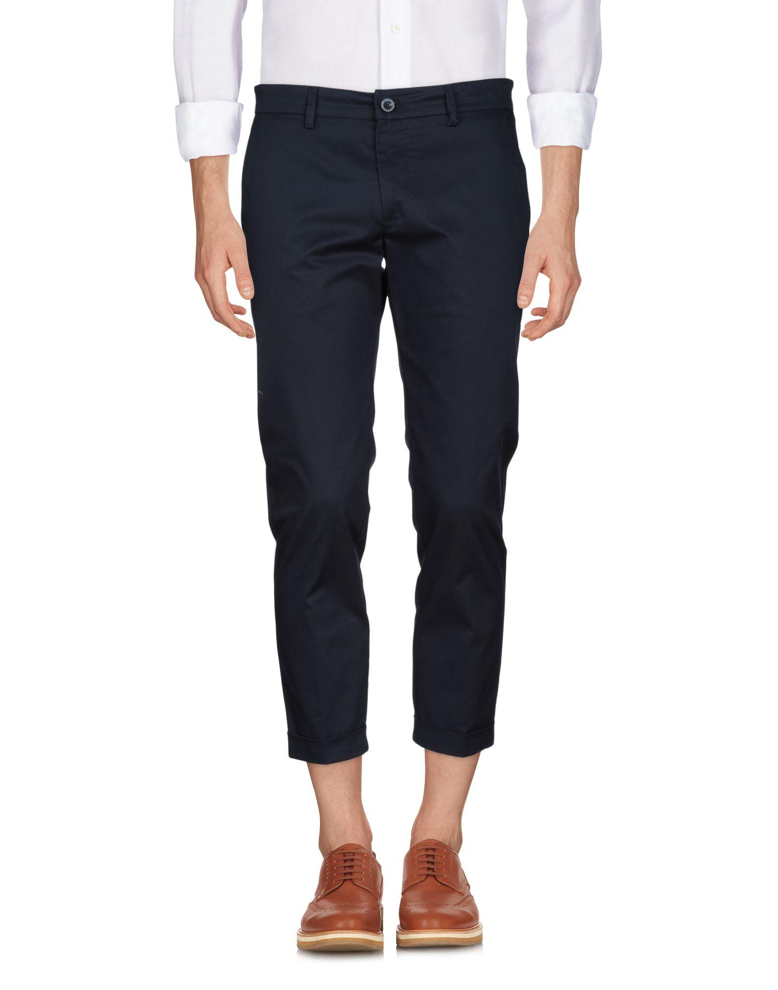 《セール開催中》LABORATORI ITALIANI メンズ パンツ ダークブルー 44 コットン 98% / ポリウレタン 2%