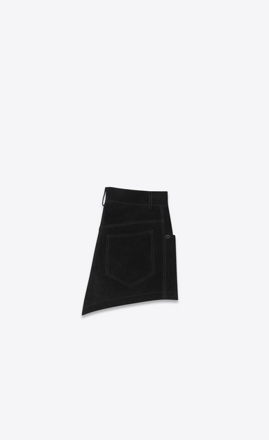 SAINT LAURENT Short Pants Woman suede shorts b_V4