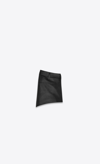 SAINT LAURENT Short Trousers Woman lambskin shorts b_V4