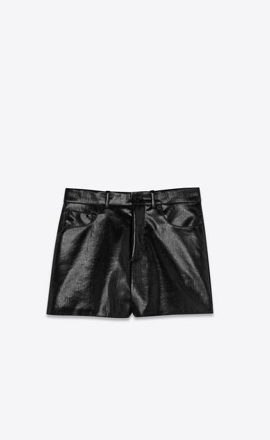 SAINT LAURENT Shorts Woman Vinyl shorts a_V4