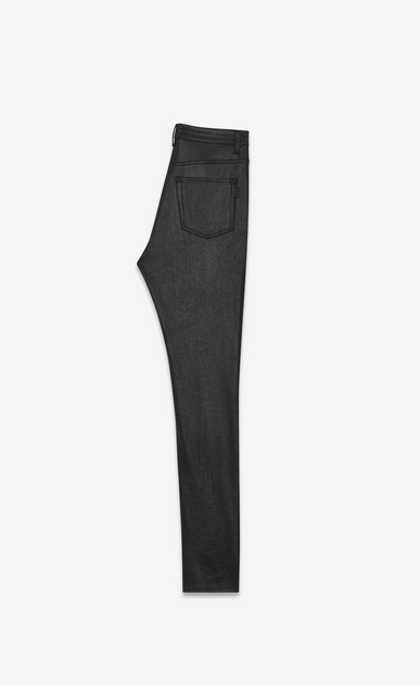 SAINT LAURENT Skinny fit Woman high waist skinny denim pants b_V4