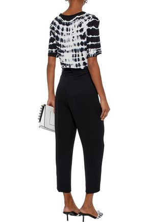 ACNE STUDIOS Imber Fluid cropped crepe tapered pants