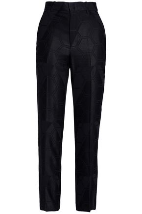 ISABEL MARANT Jacquard tapered pants